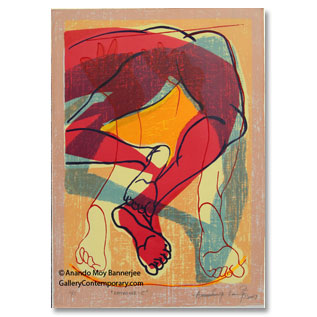 Anando Moy Bannerjee, Serigraph