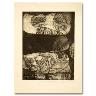 Meena Baya, Etching and Acquatint